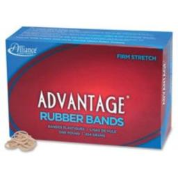 "Rubber Bands, Size 10, 1 lb.,1-1/4""x1/16"",Approx.3700/BX,NAT, Sold as 1 Box"