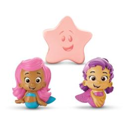Fisher-Price Bubble Guppies, Molly, Oona, Starfish Bath Squirters