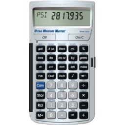 Calculated Industries 8025 Ultra Measure Master Professional Grade U.S. Standard to Metric Conversion Calculator Tool for Engineers, Architects, Builders, Scientists and Students | 60+ Units Built-in