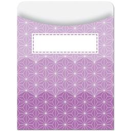 Creative Teaching Press Library Pockets, Ombre Purple Radiant Stars (6789)