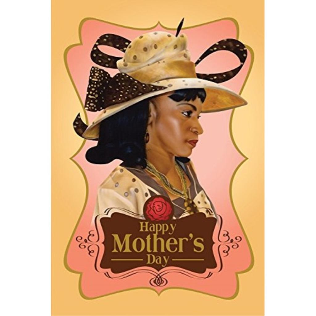 Happy Mother's Day: African American Mother's Day Greeting Card (7x5 inches)
