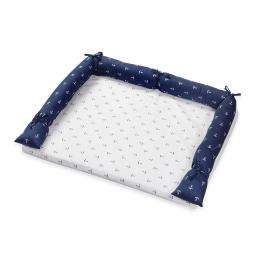 Navy Anchor Patch NauticalCrib Bedding Accessory - Dresser Cover