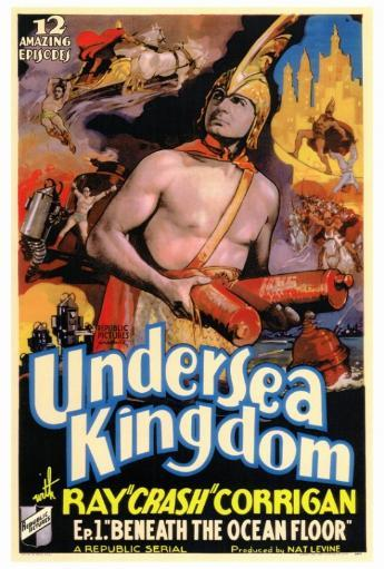 Undersea Kingdom Movie Poster Print (27 x 40) TQQKR1ZAR5LJIDH8