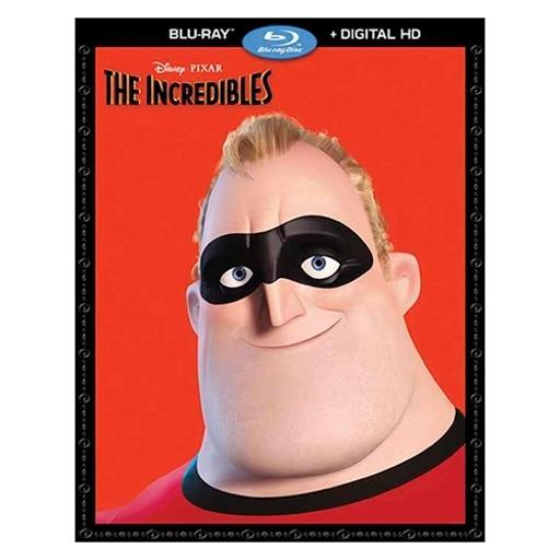 Incredibles (blu-ray/digital hd/2 disc/re-pkgd) 1291592