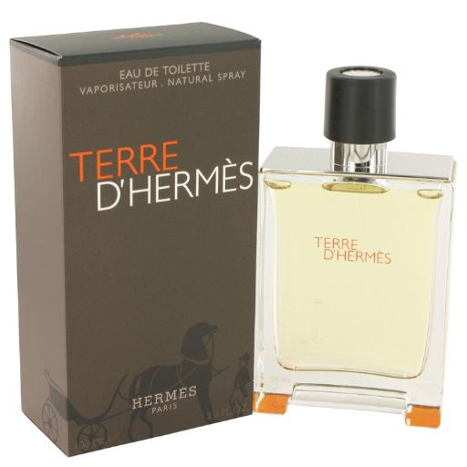 3 Pack Terre D'Hermes by Hermes Eau De Toilette Spray 3.4 oz for Men Hermes Terre D'Hermes harkens to the scent of a natural man living in splendor. This elegant fragrance debuted on the market in 2006 and quickly defined itself as a leading industry standard. We are pleased to sell Hermes Terre d'Hermes products, including Terre d'Hermes cologne.