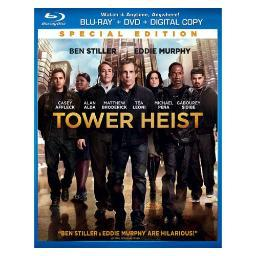 Tower heist blu ray/dvd combo pack w/digital copy-nla BR61121717