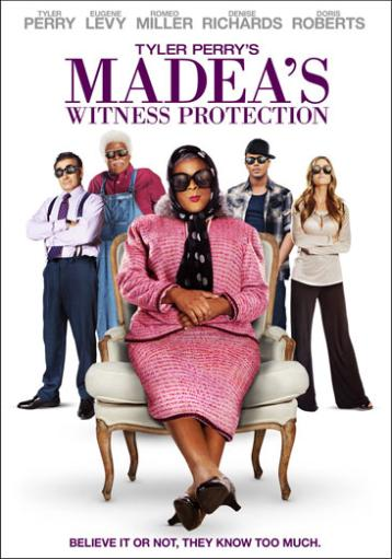 Madeas witness protection (dvd w/digital copy) N17H03LNLKIIG8FQ