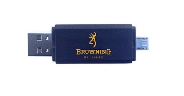 Browning trail cameras btc card reader – apple & android btc cr-uni