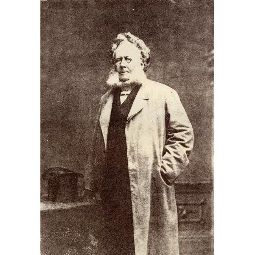 Posterazzi DPI1857312LARGE Henrik Ibsen 1828-1906 Norwegian Playwright From The Book Prose Dramas by Henrik Ibsen Published In London 1890 Poster Prin