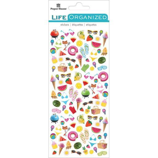 Paper House Life Organized Micro Stickers 7