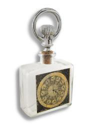 Decorative Steampunk Glass Bottle and Stopper
