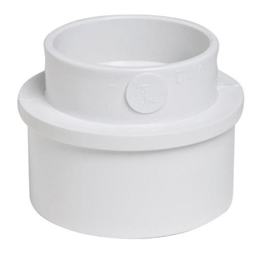 Plastic Trends P1203 PVC Adapter Bushing 3 x 2 in.