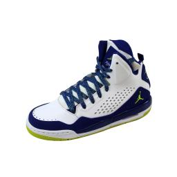 Nike Air Jordan SC-3 GG White/Fierce Green-Deep Royal Blue 630611-108