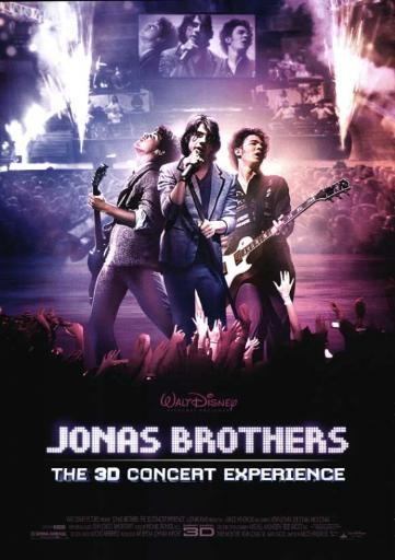Jonas Brothers: The 3-D Concert Experience Movie Poster Print (27 x 40) 1YHMBNSFNRUNHXQH