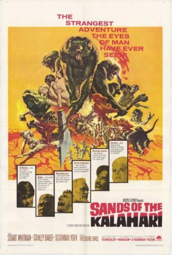 Sands of the Kalahari Movie Poster Print (27 x 40) 1135213
