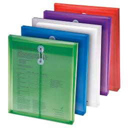 Smead manufacturing company 6 pk poly color envelopes asst 89501bn