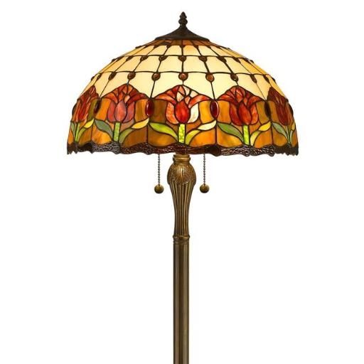 Amora Lighting AM002FL18 18 in. Tulips Floor Lamp Shade