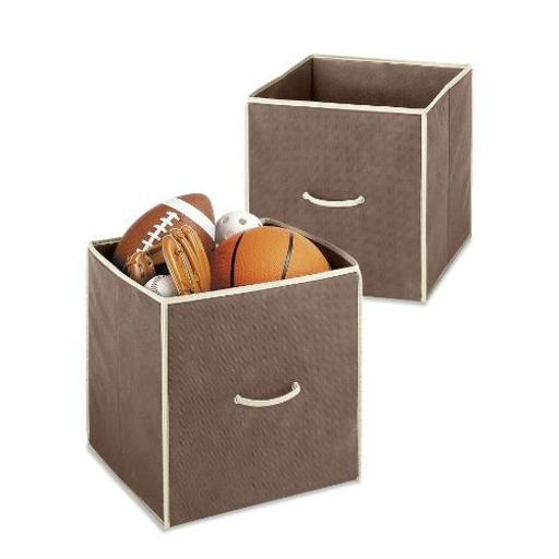 Whitmor 6351-909-2-Java 14 Collapsible Cubes Java D1BEC29560DB65E4