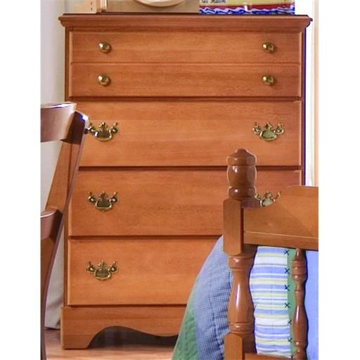 Common Sense Four Chest Of Drawer In Salem Maple