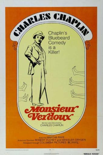 Monsieur Verdoux Movie Poster Print (27 x 40)