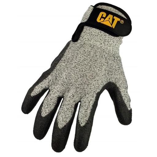 Cat Gloves CAT018000J Jumbo Cut Resistant Level 3 String Knit Gloves, Assorted Colors