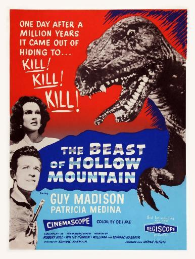The Beast Of Hollow Mountain Us Poster Art From Top Left: Patricia Medina Guy Madison 1956 Movie Poster Masterprint IIC7PP2OCXRE5J3S