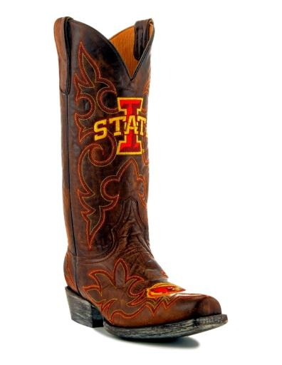 Gameday Boots Mens College Team Iowa State Cyclones Brass IOS-M051-1 CA493D97510C572C
