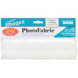 "Crafter's Images PhotoFabric 8.5""X100"" 100% Cotton Poplin"