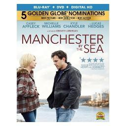 Manchester by the sea (blu ray w/dvd w/uv) BR51567