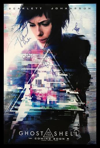 Vintage Favs Ghost In The Shell Signed Movie Poster Massgenie Com