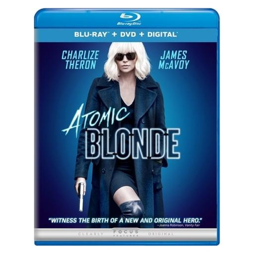 Atomic blonde (blu ray/dvd w/digital hd) SRHDMOMFJRS3UKDN
