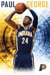 Indiana Pacers - Paul George 2013 Poster Poster Print TIARP13325