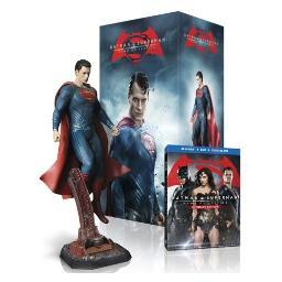 Batman v superman-dawn of justice (blu-ray/uv/ult-ed/superman figurine) BR697576