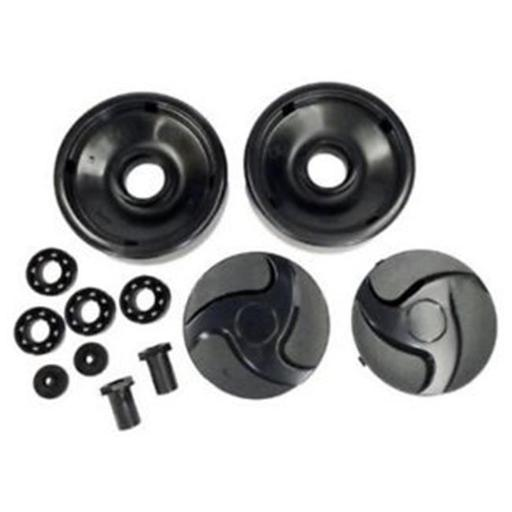 Hayward Pool Products AX6009BBK Rear Wheel Kit for Automatic Pool Cleaners - Black