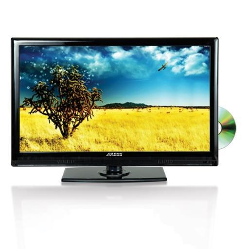 Axess tvd1801-13 axess 13.3inch led hdtv features 12v car cord technology built-in dvd player JHOFB9N0PBDGQYNU