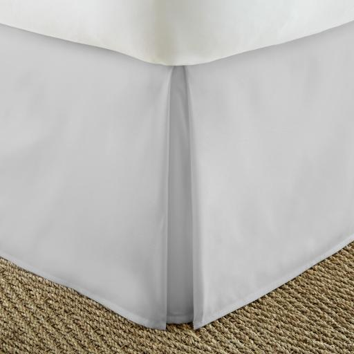 Soft Essentials Premium Pleated Bed Skirt Dust Ruffle Bed Skirt (Twin Extra Long - Light Gray)(Pack Of 12)