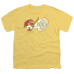 Woody Woodpecker Famous Laugh Big Boys Youth Shirt