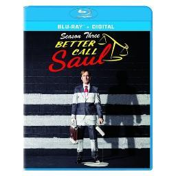 Better call saul-season three (blu ray w/uv) (3discs) BR51747