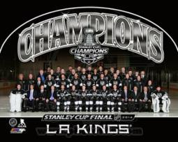 Los Angeles Kings 2014 NHL Stanley Cup Champions Team Sit Down Photo Sports Photo PFSAAQY17901