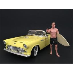American Diorama 77442 Surfer Jay Figure for 1 isto 18 Scale Models