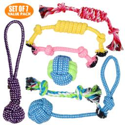 Puppy Toys & Dog Play Toys for Small Dogs and Puppies - Set of 7 VALUE PACK