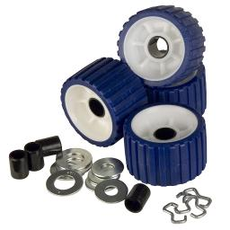 Ce smith ribbed roller replacement kit 4 pack blue 29320 29320