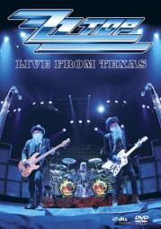 Zz top-live from texas (dvd)
