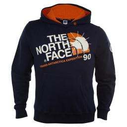 North Face Expedition Pullover Deep Water Blue Mens Style : Ay0s