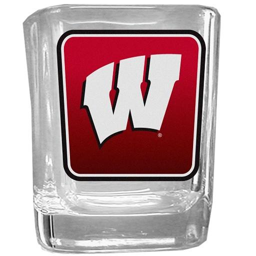 Wisconsin Badgers NCAA Logo Shot Glass