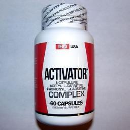 Activator by IHD Labs 60 Capsules Amino Acid Supplement for Sports Performance