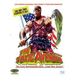 Toxic avenger (blu ray) (ws/1.85:1/dol dig 2.0) BR9879