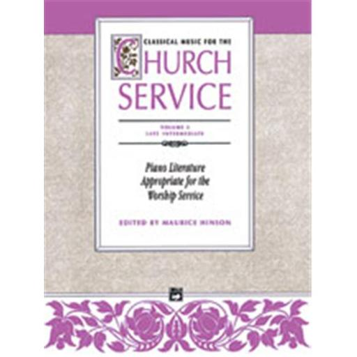 Alfred 00-460 Classical Music for the Church Service- Volume 3 - Music Book