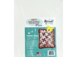 Bsltt-1 bosal heat moldable fusible plus dbl sd twistertry