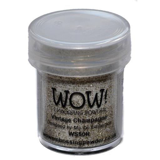 WOW! Embossing Powder 15ml Vintage Champagne